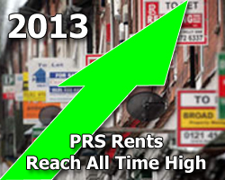PRS Rents Reach All Time High
