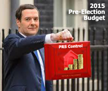 Sub-Letting Announcement Made In 2015 Pre-Election Budget