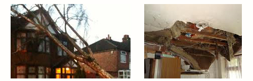 Severe weather can cause damage to rental properties - Make sure Insurance is up to date