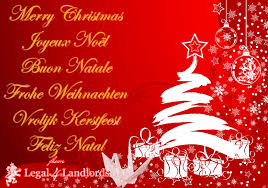 Wishing Landlords And Letting Agents A Very Merry Christmas from Legal4Landlords