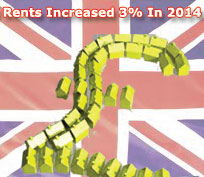 PRS Rents Increased 3% In 2014